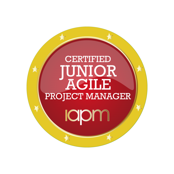 All information about the Certified Junior Agile Project Manager (IAPM) certification