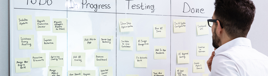 Sooner or later it will be the first agile project. But with some training you will soon be enthusiastic about Scrum and Co.