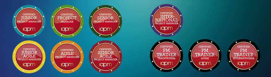 All ten certification badges in one overview