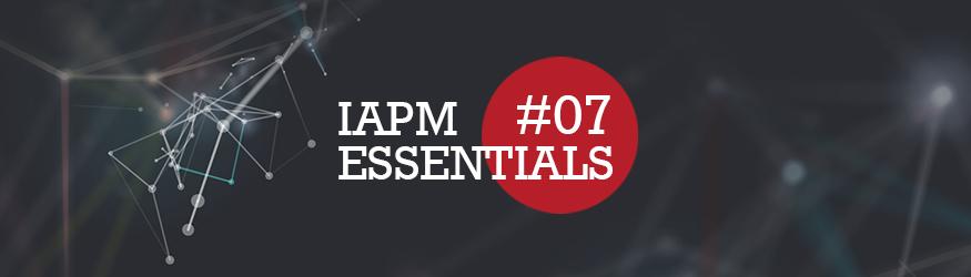 Logo der IAPM Essentials Nummer sieben.