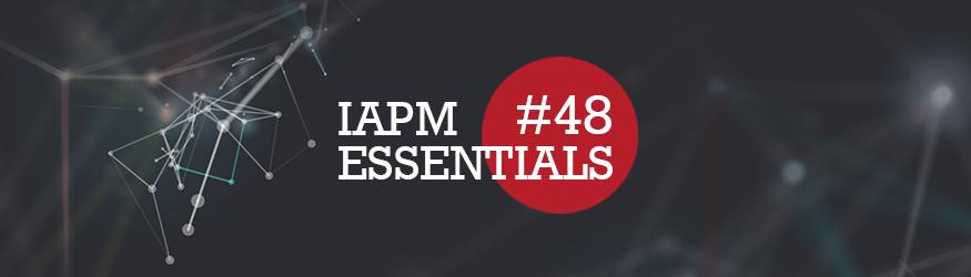Logo of IAPM Essentials number 48.