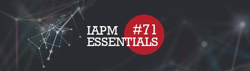 Logo der IAPM Essentials Nummer 71.