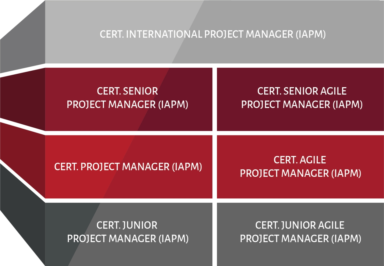 The chart shows the certification levels of the IAPM