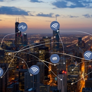 Success in the smart city environment with agile networks