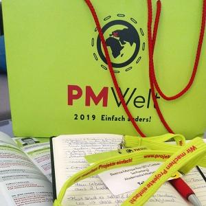 """Beatrice Rich, Network Official Network University, besuchte im Mai die """"PMWelt 2019"""""""