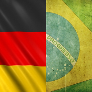 "Invitation to the Project Manager Network Meeting on the theme of ""Brazil versus Germany"" in Erlangen on 2 July 2014."