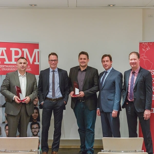 "Nachbericht: Preisverleihung ""Project Manager of the Year 2016"""