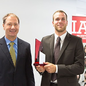 """Felix Hess ist """"Project Manager of the Year"""" der IAPM – herzlichen Glückwunsch!"""