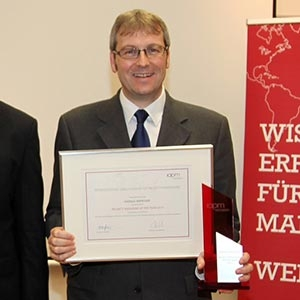 Harald Kiendler ist IAPM Project Manager of the Year 2014
